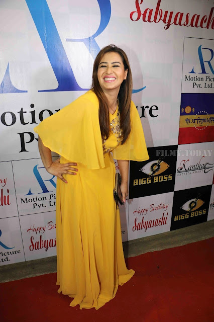 Shilpa Shinde Pic In Yellow Dress