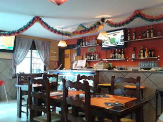 Foto del interior del restaurante mexicano El Burrito Tertuliano