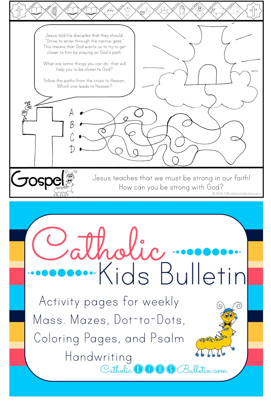 Catholic Kids August Ckb