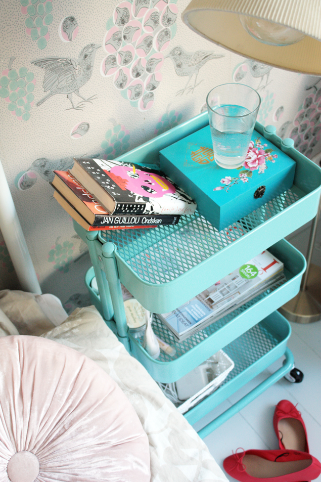 Unique bedroom nightstand ideas driven by decor - How to decorate a nightstand ...