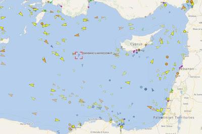 Στην κυπριακή ΑΟΖ το Μπαρμπαρός συνοδευόμενο από τουρκικά πολεμικά πλοία