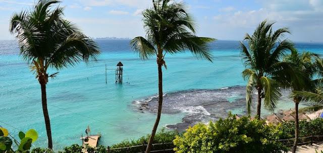 O incrível Parque Garrafon Natural Reef Park em Cancún