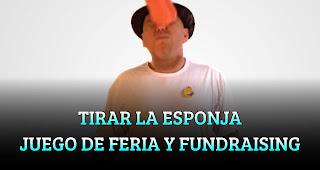 TIRAR LA ESPONJA JUEGO DE FERIA Y FUNDRAISING