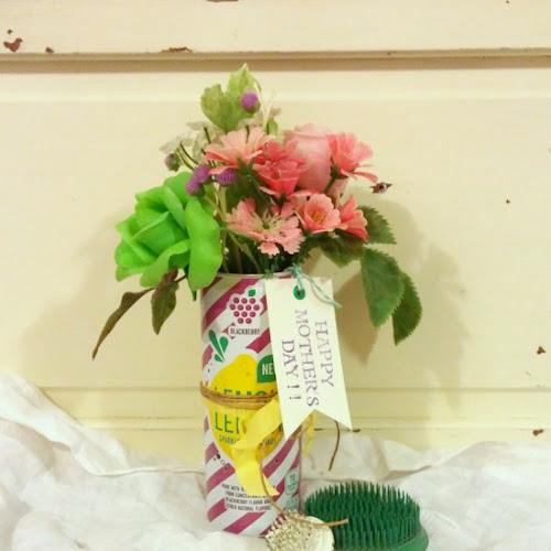 Happy Mother's Day - Trash to Treasure Flower Vase!