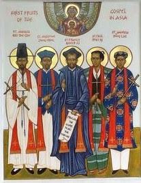 St. Andrew Kim Taegon, St. Paul Chong Hasang and companions
