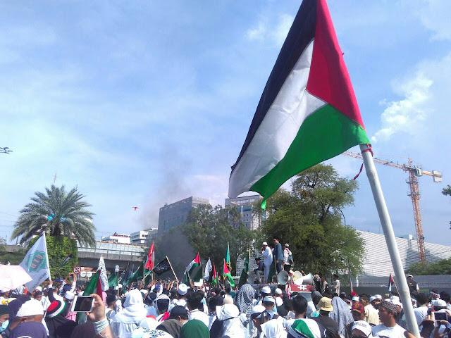 Aksi Bela Palestina, FSLDK Indonesia Bawa Lima Tuntutan