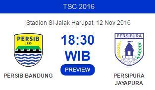 Persib vs Persipura Digelar di Stadion Si Jalak Harupat Soreang