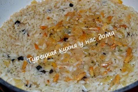 рисовый плов в анчоусах