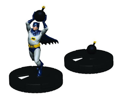 San Diego Comic-Con 2016 Exclusive DC Comics Batman '66 HeroClix Set Batman with Bomb