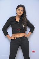 Neha Deshpandey in Black Jeans and Crop Top Cute Pics Must see ~  Exclusive Galleries 045.jpg