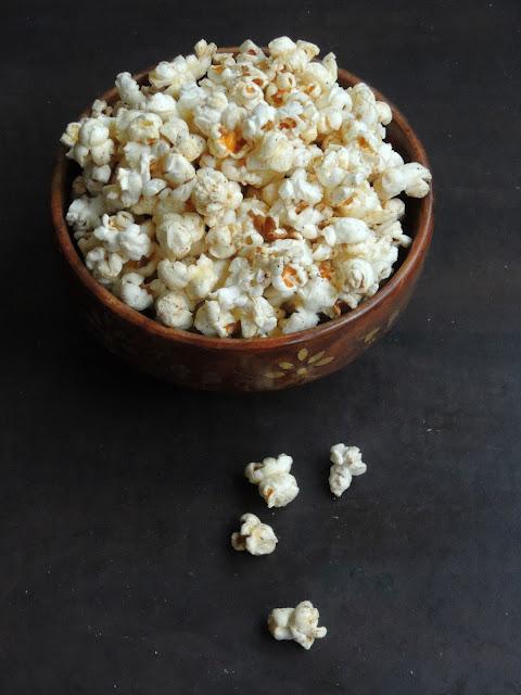 Spiced Masala popcorn, Garam masala popcorn