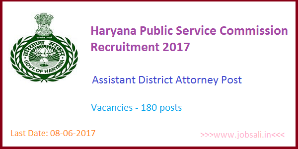 HARYANA PUBLIC SERVICE COMMISSION, Assistant District Attorney