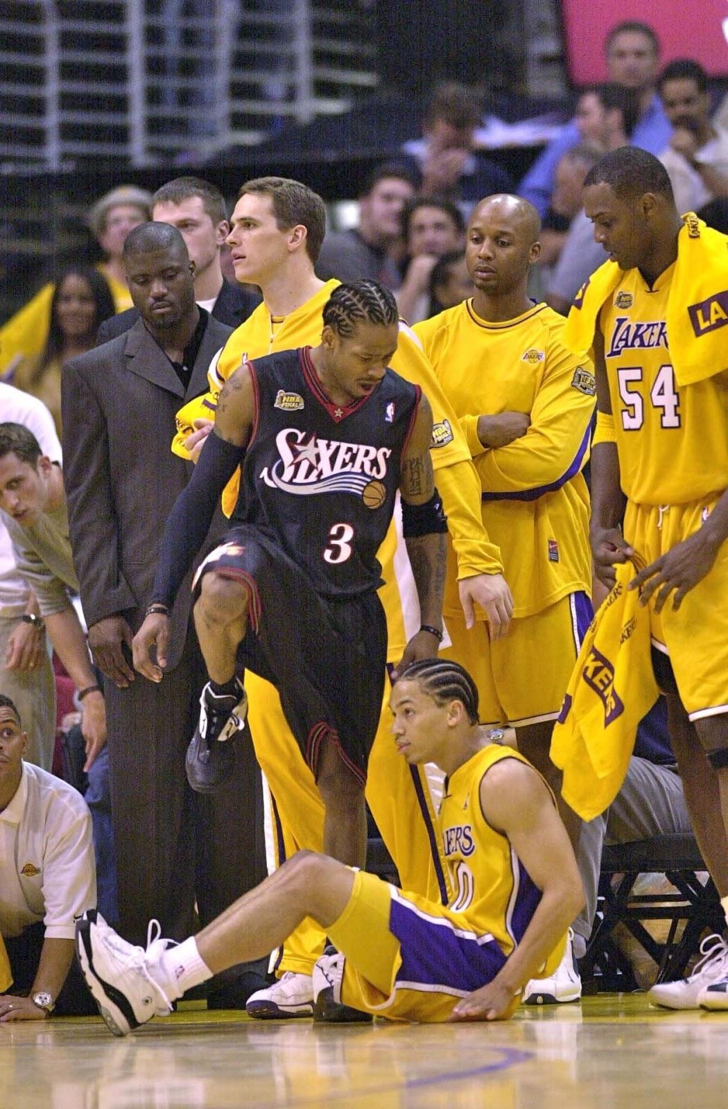 allen iverson tyronn lue - 15 years ago Allen Iverson took Tyronn Lue