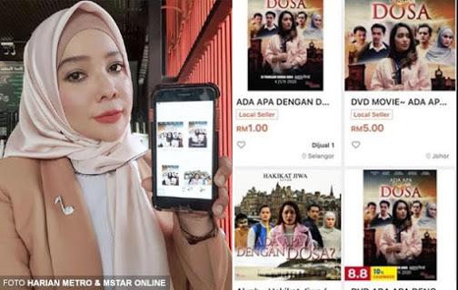 'Saya sangat marah tengok orang jual filem saya RM1' - Penerbit filem bakal saman portal e-dagang RM50 juta