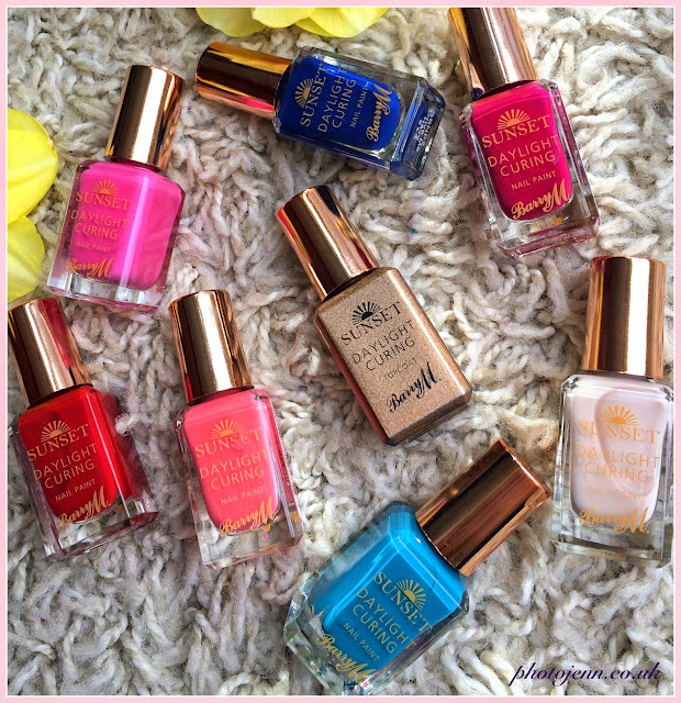 new-barry-m-sunset-daylight-curing-nail-paints-review