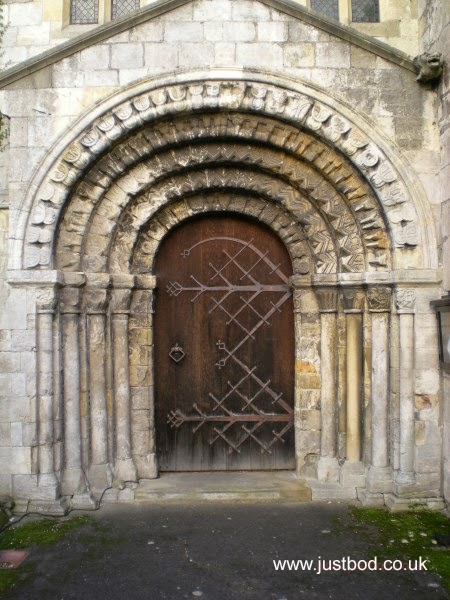 Doorway St Helen's Church Stillingfleet York