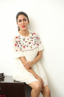 Lavanya Tripathi in Summer Style Spicy Short White Dress at her Interview  Exclusive 130.JPG
