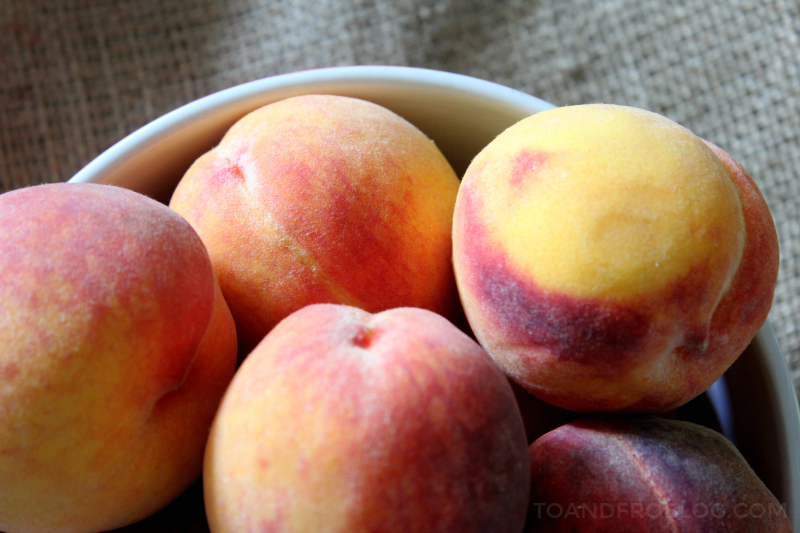 Fresh Peach Crisp Recipe