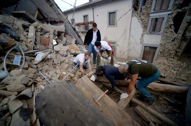 earthquake amatrice town italy