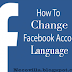 How to Change Facebook Language | Change FB Language