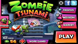 Zombie Tsunami Mod (Unlimited) APK v3.6.4 Full Terbaru