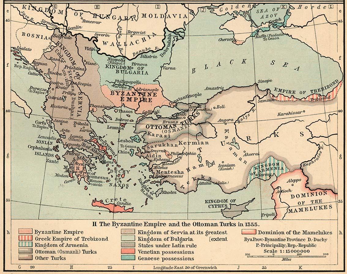 Bekend Wereldkaart: Kaart Ottomaanse Rijk, Turkije @DW89