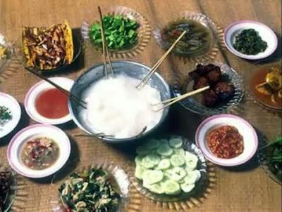 ประเทศบรูไน อัมบูยัต(Ambuyat)