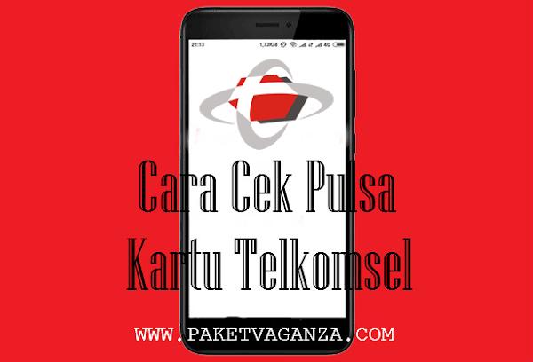 Cara Cek Pulsa Kartu Telkomsel Terbaru 2019