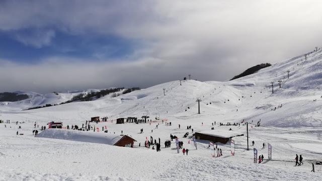 Αγώνες Αλπικού Σκι το Σαββατοκύριακο στο Χιονοδρομικο Κεντρο Ανηλίου