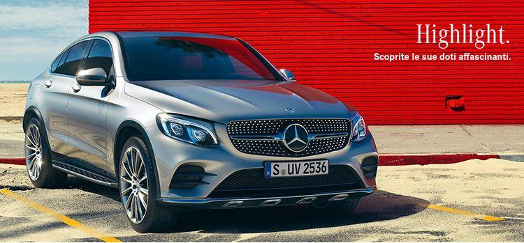 Mercedes GLC Coupè | Listino prezzi | Versioni e allestimenti, pacchetti e optional di serie