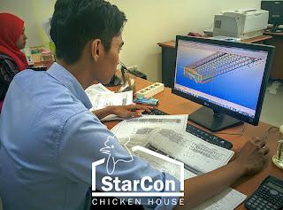 Desain Kandang Ayam Closed House Starcon