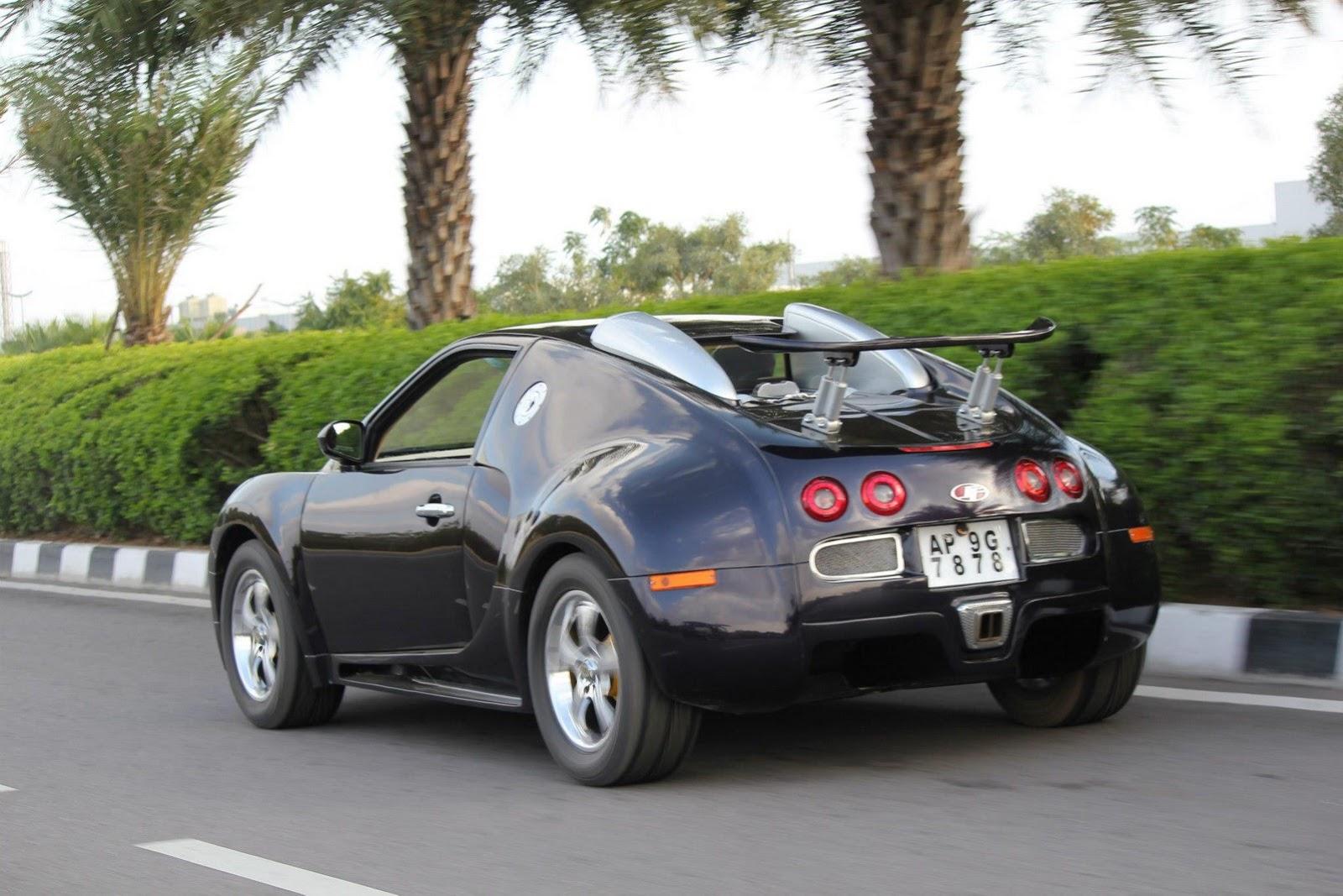 Docar-s: Mini-Me Bugatti Veyron Clone Built On A Suzuki