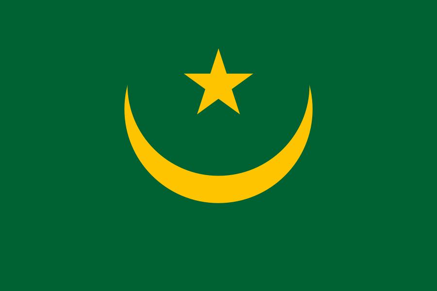 Flag of the Islamic Republic of Mauritania