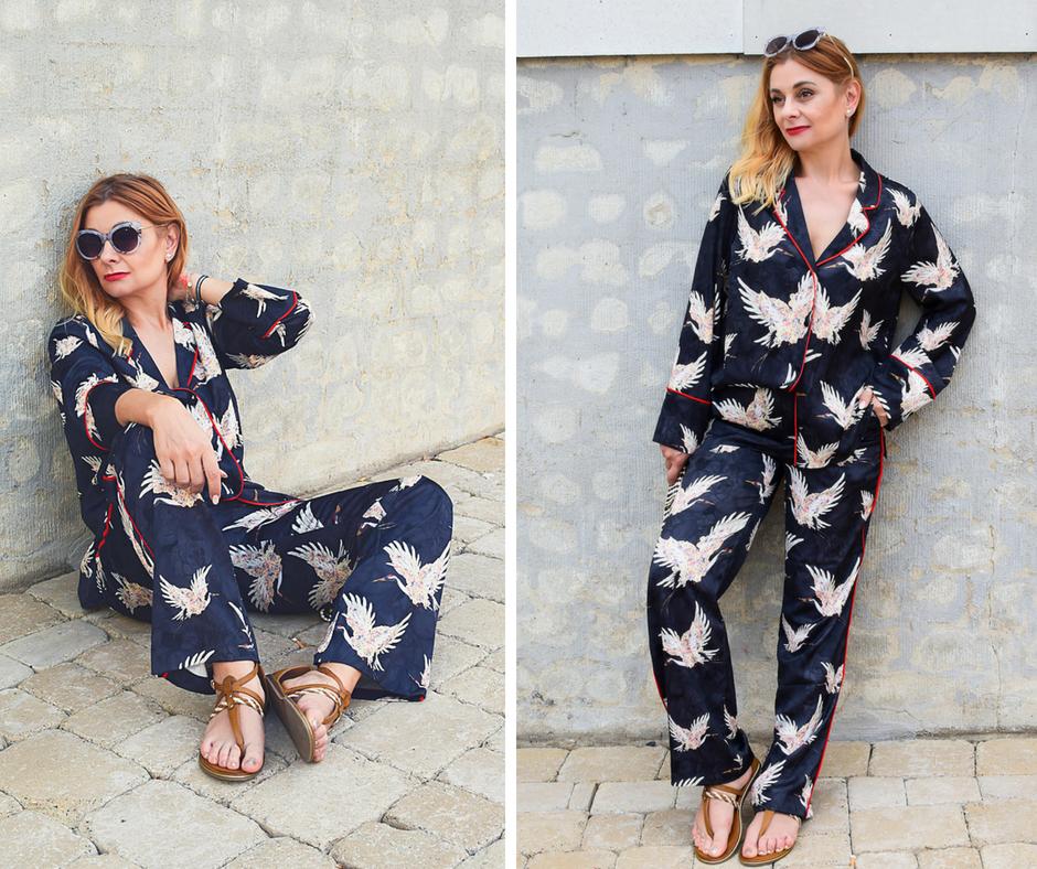 wie trage ich einen Anzug im Pyjama Stil, Pyjama Style