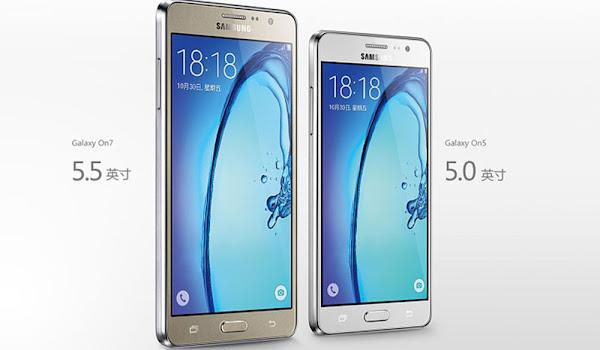 Samsung Galaxy On5 ve Galaxy On7 Tanıtıldı!