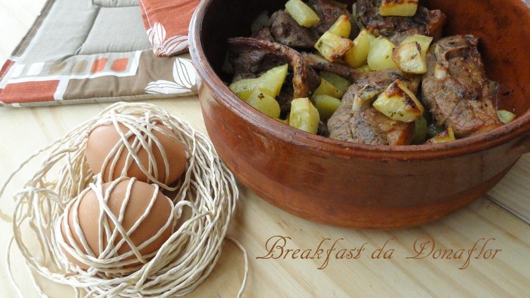 Breakfast da Donaflor CUCINA PUGLIESE Tiedd dagnidd o furn co l patane per LITALIA NEL PIATTO