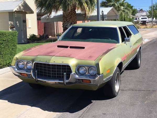 1972 Ford Gran Torino Wagon For Sale