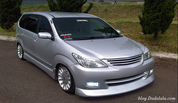 Modifikasi avanza ceper veloz hitam putih silver all new ...