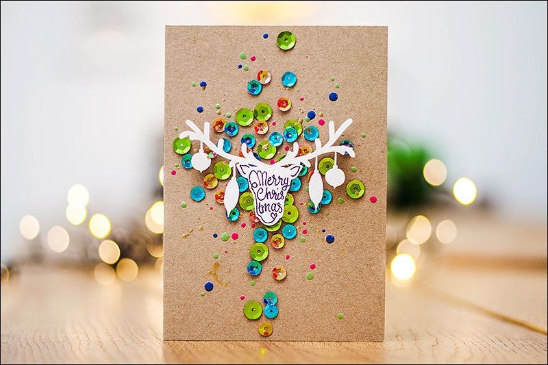 Stephanie Berger - Cardmaking - Scrapbooking - Wycinanka - Christmas