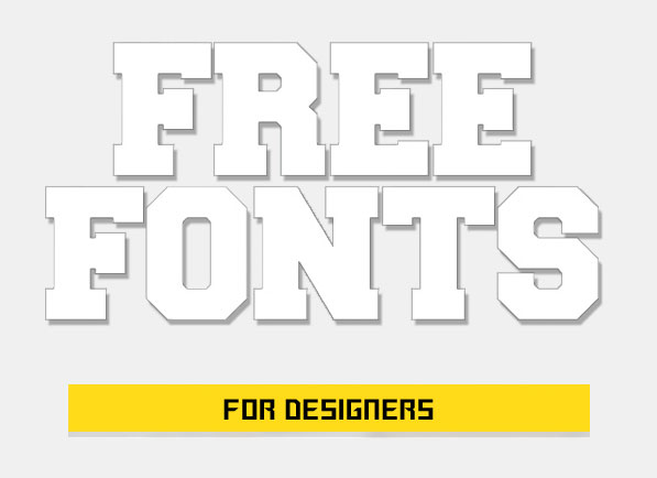 Top 80 Best Free Fonts Download for Designers