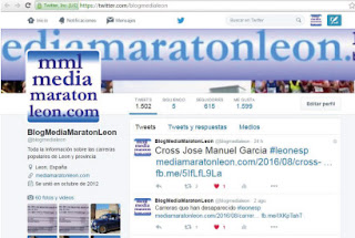 pagina de inicio @blogmedialeon