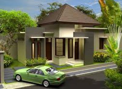contoh bentuk rumah sederhana di kampung yang elegan