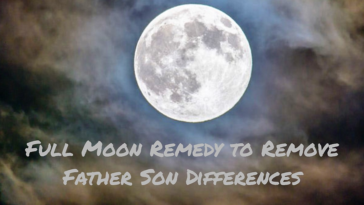 Remedy to Remove Father Son Differences