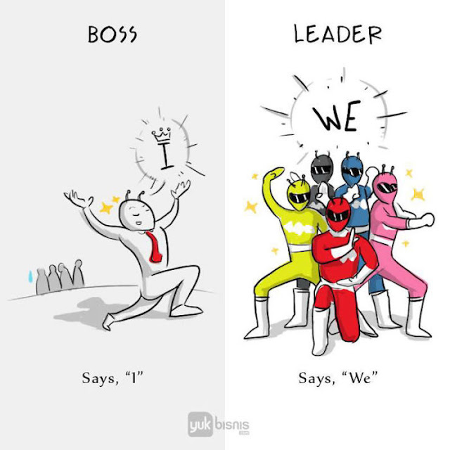 diferencia-entre-jefe-y-líder-creativas-ilustraciones