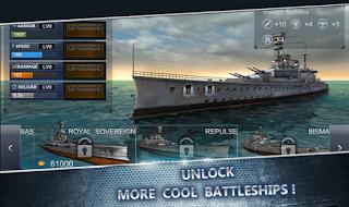 WARSHIP BATTLE 3D World War 2 Apk Mod All Unlock
