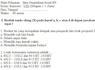 Soal-Ulangan-Ujian-IPS-kelas-8-Semester-1-UAS-IPS-kelas-8-SMP