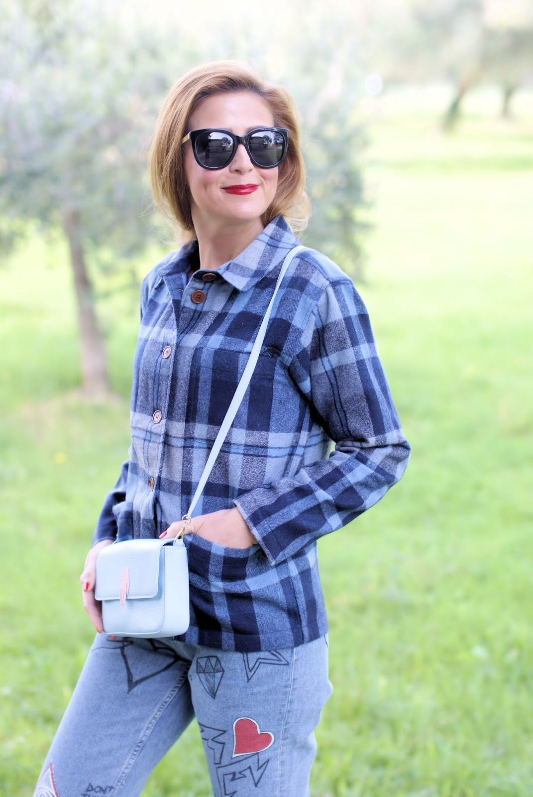 How to wear a checked jacket? The Woolster from Gant on Fashion and Cookies fashion blog, fashion blogger style
