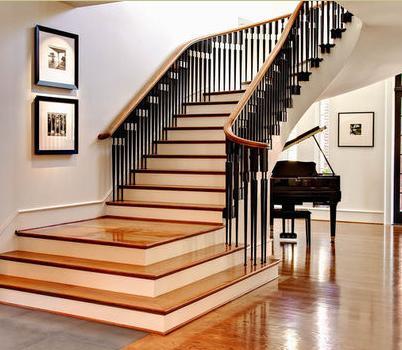 Fotos de escaleras baranda escaleras - Baranda de escalera ...