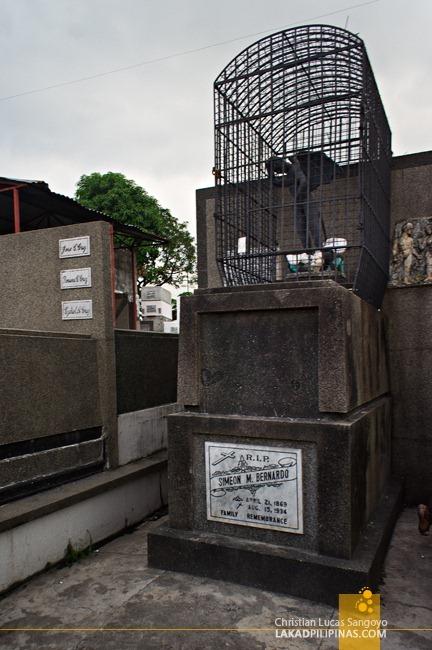 Malabon Cemetery Demon St. Michael