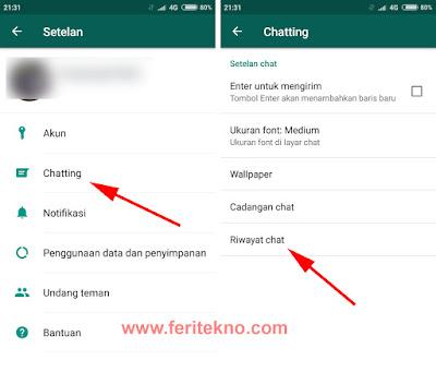Cara Menghapus Pesan WhatsApp Semuanya Sekaligus 2